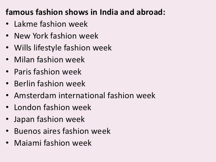 Fashion for me essay