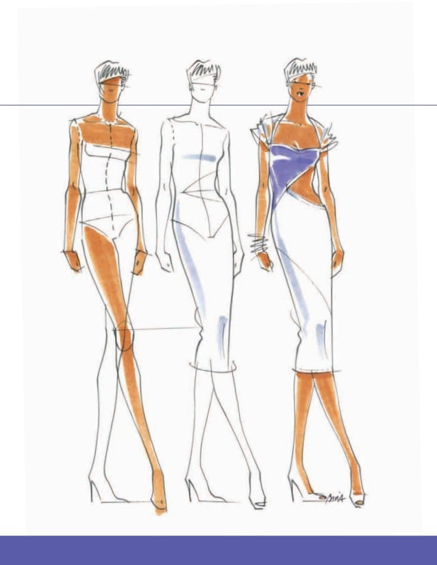 How to draw sketches for fashion design 55