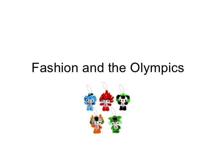 Fashion and the Olympics