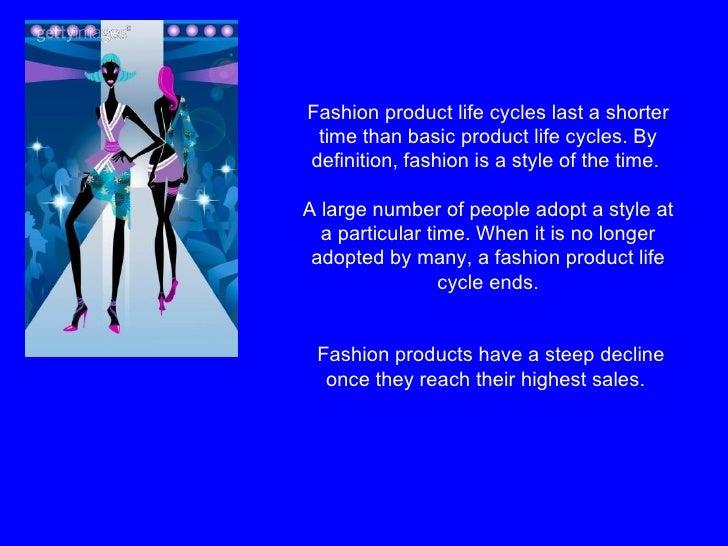 Fashion Cycle Definition