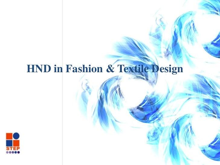 Fashion design (final collection)