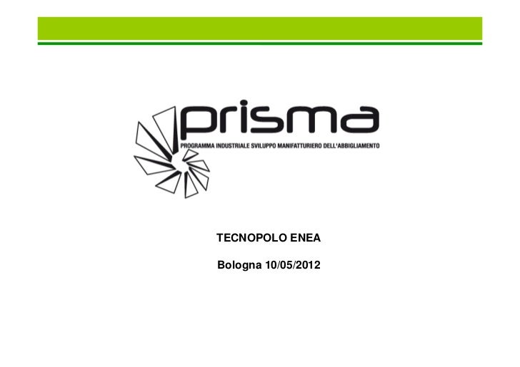 Fashion e Reti d'Impresa - G.Baldassarra - rete Prisma (bic lazio)