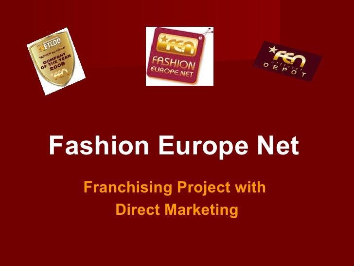 Business-presentation FE.N-team, english