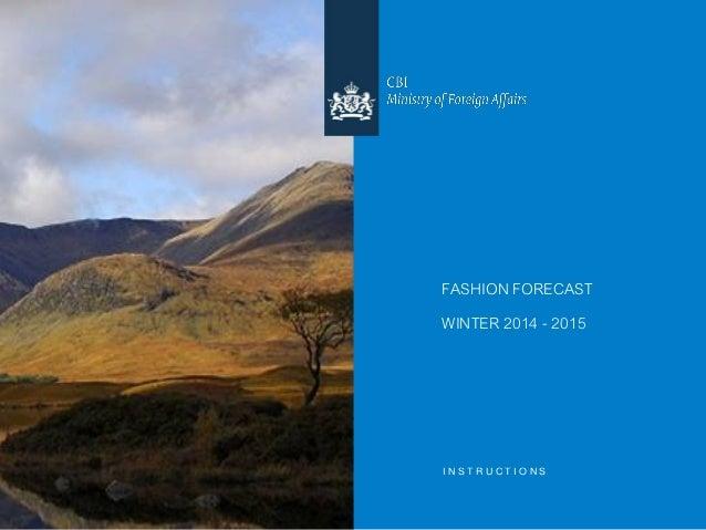Fashion forecast winter 2014_2015
