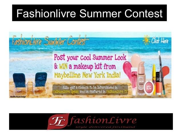 Fashionlivre Summer Contest - Win Maybelline makeup kit