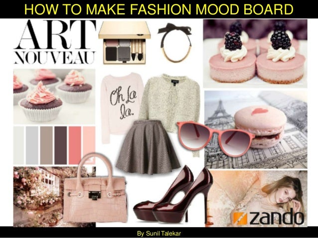 how to develop a mood board