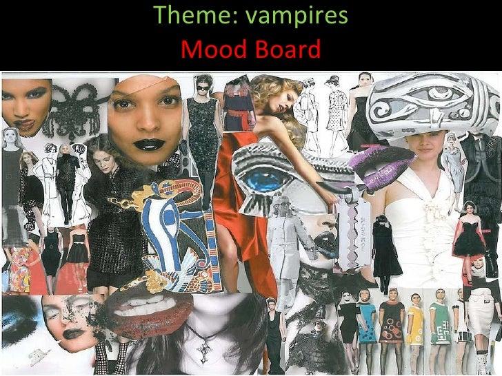 Fashion Theme Boards Theme Vampires Mood Board
