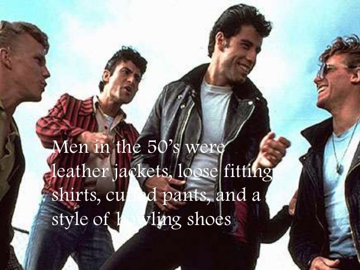 Fifties Male Fashion