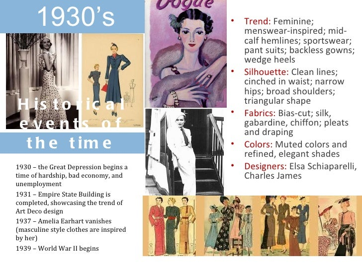 fashion through the decades From 1915 to the end of the decade, fashion began transitioning to the era of the art nouveau figure  and instead aimed to bring back their youth through .