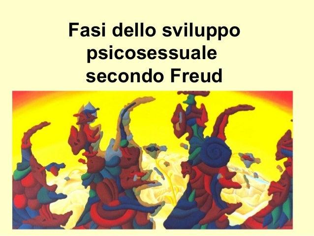 Fasi dello sviluppo psicosessuale secondo Freud