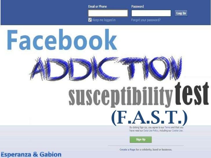 Facebook Addiction Susceptibility Test