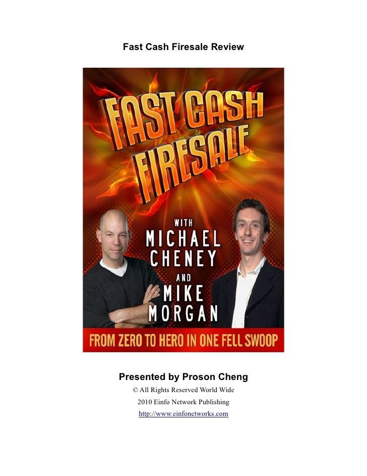 Fast Cash Firesale Review