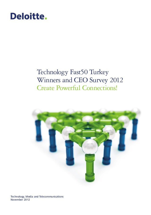 Technology Fast50 Turkey                   Winners and CEO Survey 2012                   Create Powerful Connections!Techn...