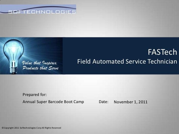 Super Barcode Training Camp - Softechnologies FasTech Presentation