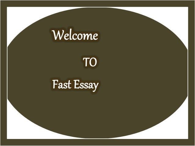 fast essay writing service An unbelievable company to provide fast writing service to ensure you attain  maximum grades if you are in a rush to get you essays done, contact us.