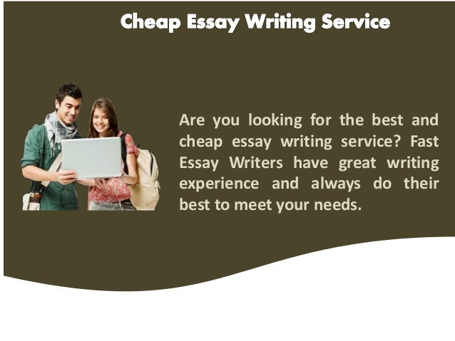 cheap essays writing New to us don't throw away your 20% discount and make use of our legit and cheap essay writing service we guarantee you won't need to try another service.