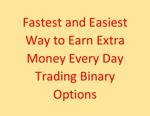 Easy way to trade options