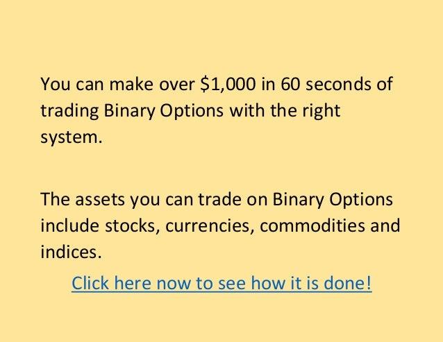 Binary option broker usa