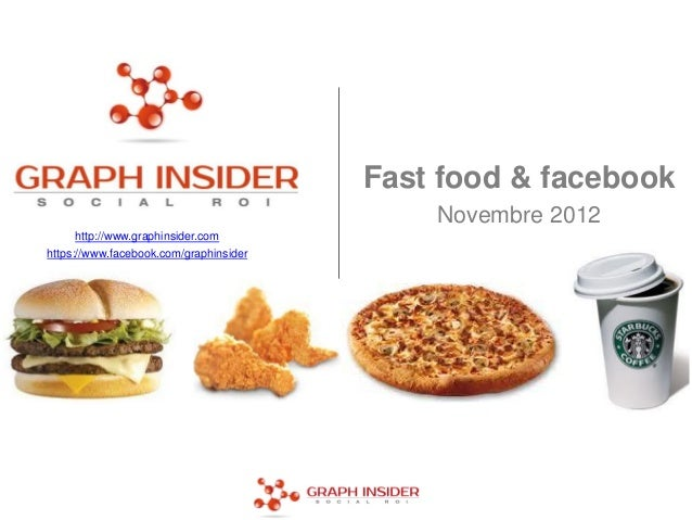 Fast food & facebook                                            Novembre 2012      http://www.graphinsider.comhttps://www....