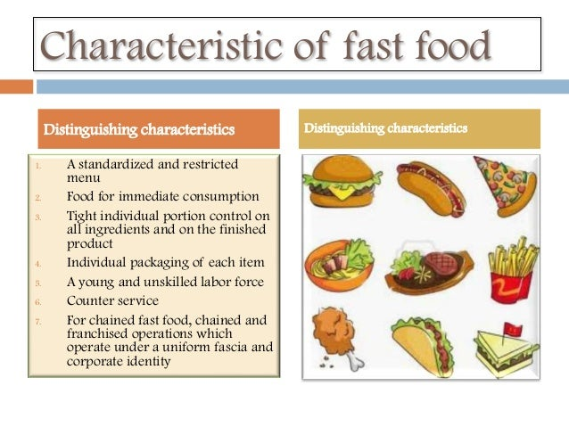 thesis of customer satisfaction in fast food A customer perception and satisfaction survey for a chinese buffet (title)  to my  thesis advisor, professor dr leland l nicholls, for all the time, valuable insight.