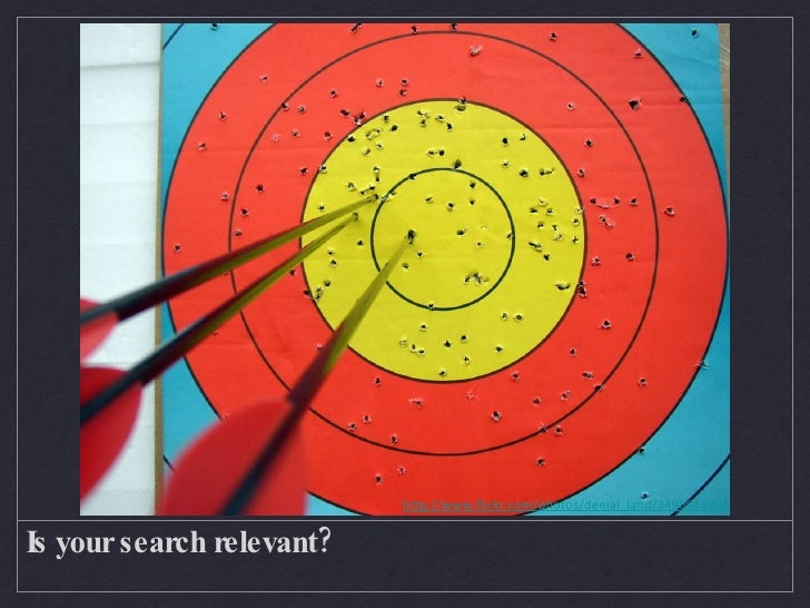 Is your search relevant? FASTforward Summit Series 3