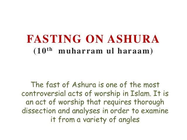 Fasting on ashura
