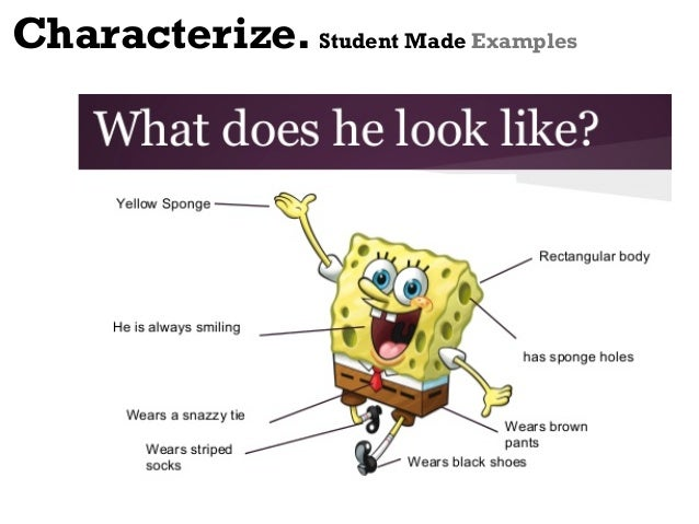 Characterization Examples For Kids characterization examples in ...