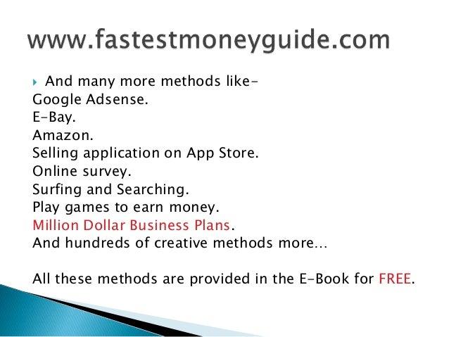 8 Easy Ways to Make Money Fast photo