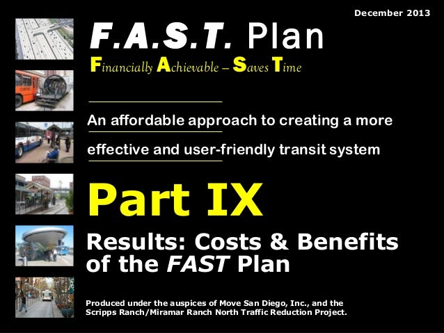 FAST Plan pt 9: Results (Costs and Ridership)