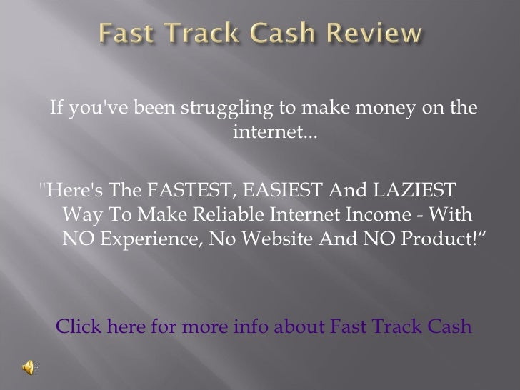 """If you've been struggling to make money on the                      internet...  """"Here's The FASTEST, EASIEST And LAZIEST ..."""