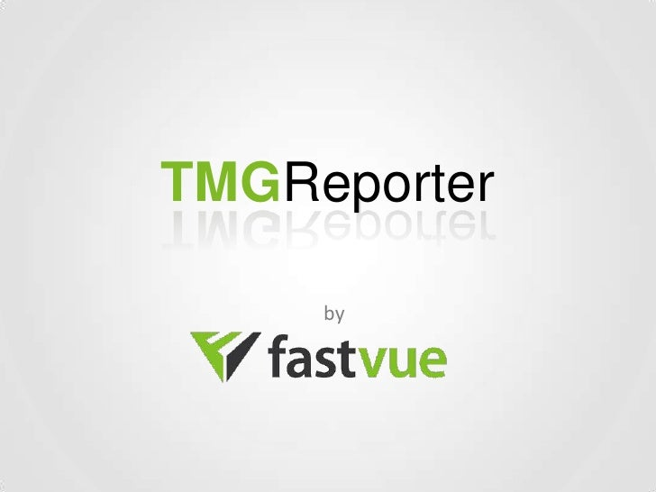 TMGReporter     by