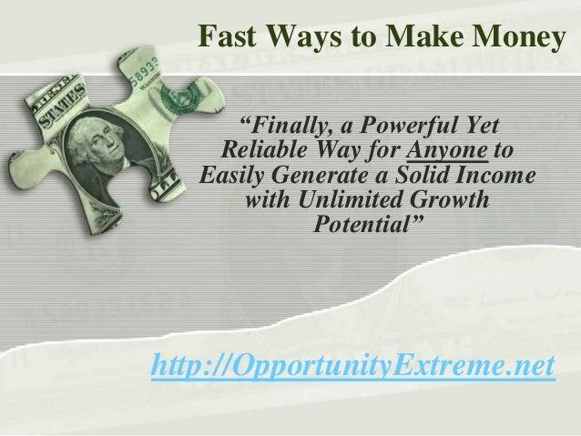 Fast ways to make money at 18