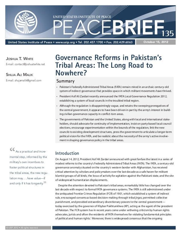 UNITED STATES INSTITUTE OF PEACE                                         PEACEBRIEF135 United States Institute of Peace • ...