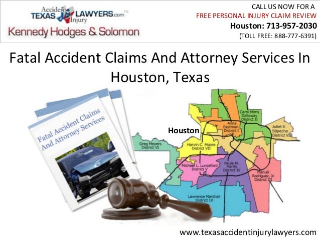 Fatal Accident Claims And Attorney Services In Houston, Texas