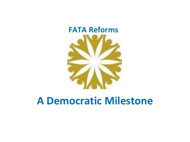 FATA 11-Point Reforms