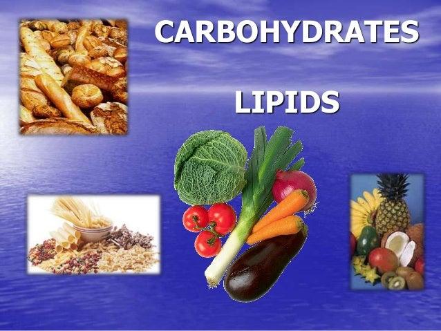 CARBOHYDRATES LIPIDS