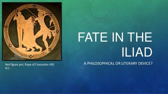 Fate in the iliad