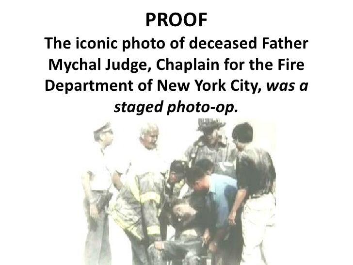 Father Judge's Death (Murder)  - 9/11 Staged Photo-Op