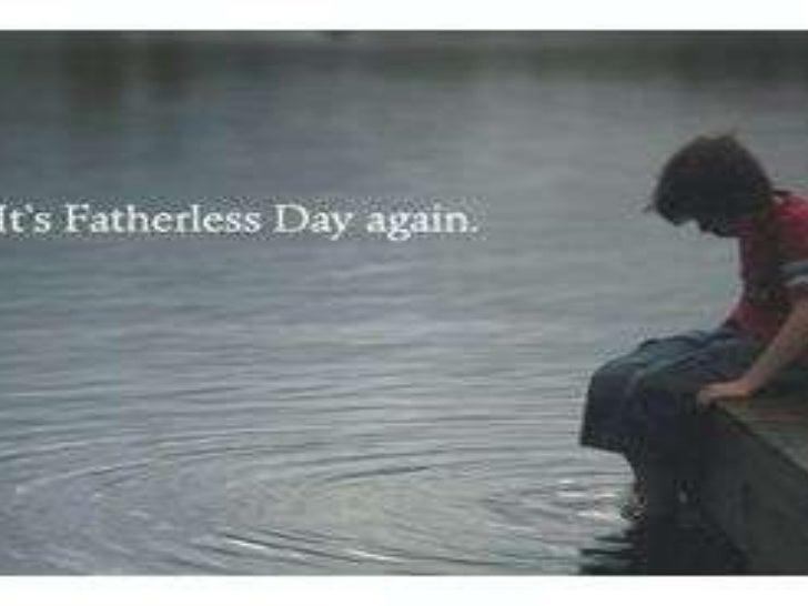 Fatherless children