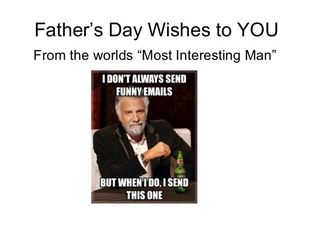 Father's day meme wishes