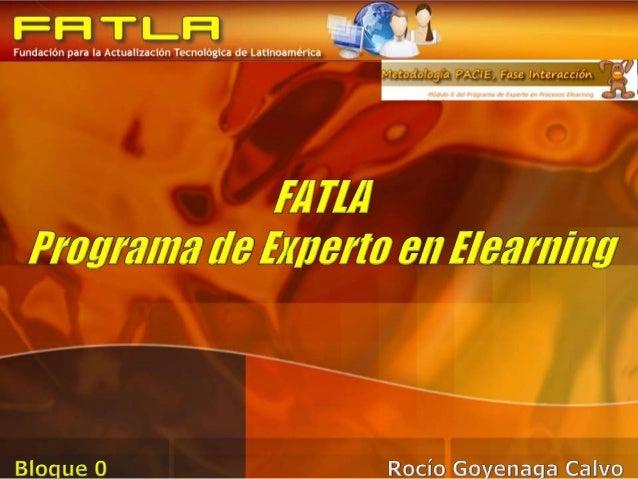 Sección de Información • Curso • Tutor • Evaluación Sección de Comunicación • Proceso • Operatividad del aula Sección de I...