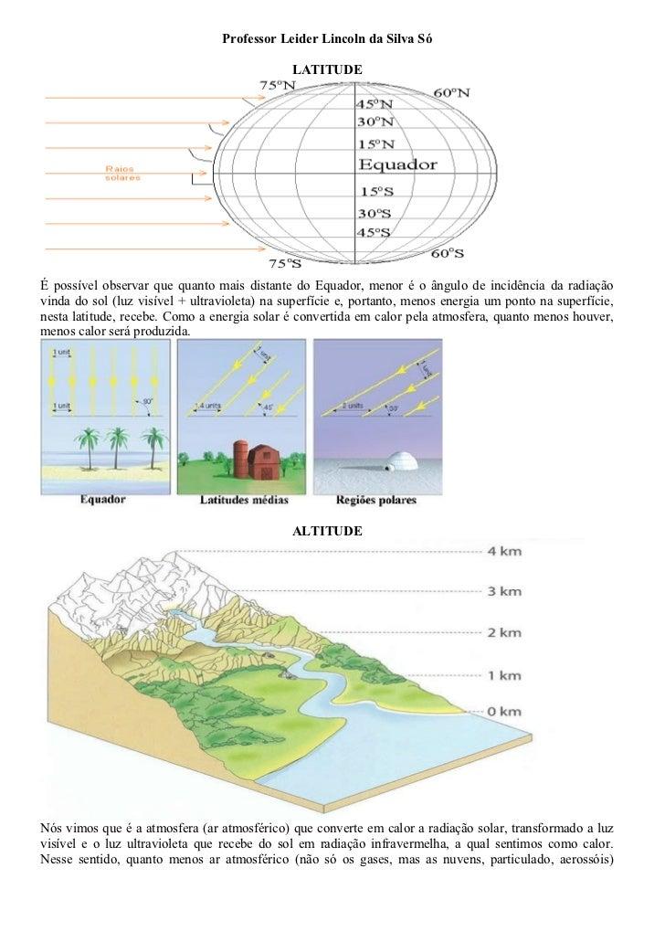Fatores climato botânicos