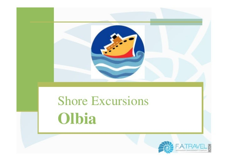 Shore excursions - Olbia - North Sardinia