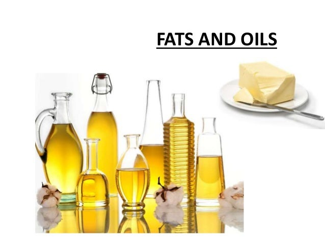 fats and oils food production