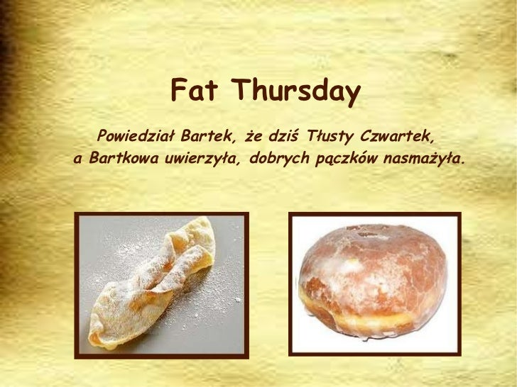 Fat thursday