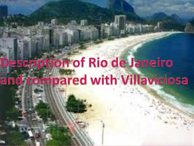 Rio de Janeiro is the capital of the state of Rio de Janeiro,Brazil. One of the most important tourist attractions ofBraz...
