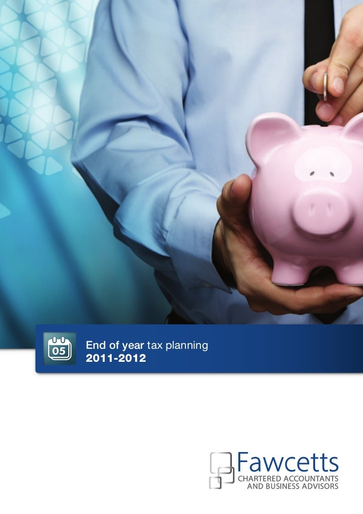 End of year tax planning2011-2012