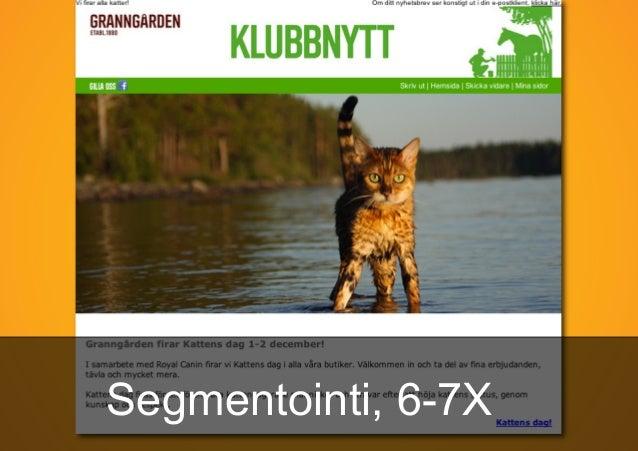 Segmentointi, 6-7X