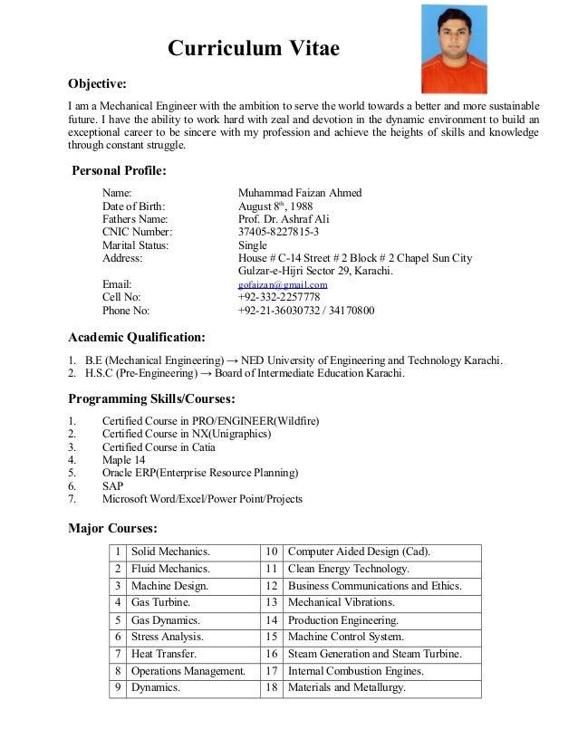 Resume CV  Production Engineer  IndianJobTalks
