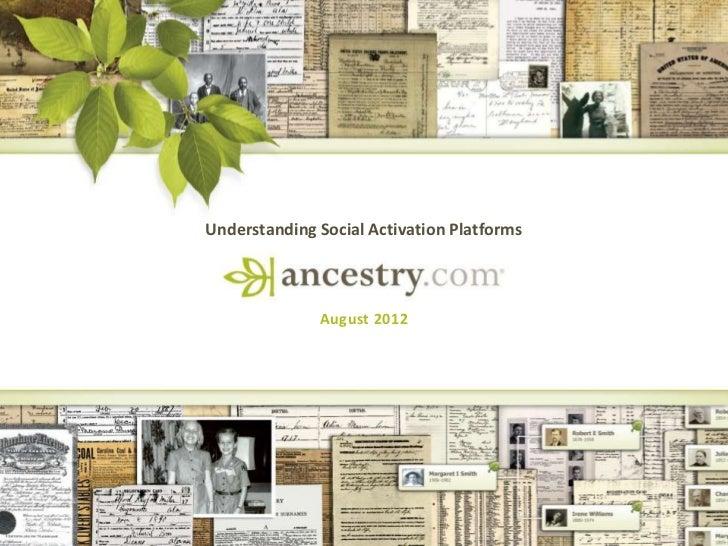 Understanding Social Activation Platforms